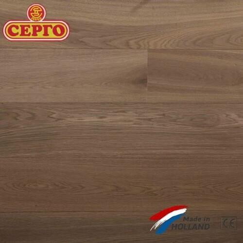 Трехслойный дубовый паркет Q2 By Parketfabriek Lieverdink Smoked Oiled Natural