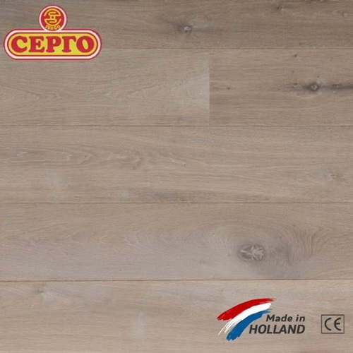 Трехслойный дубовый паркет Q2 By Parketfabriek Lieverdink Smoked Oiled White