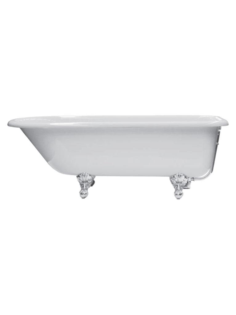 Ванна отдельностоящая Gaia Roll Top 154/170