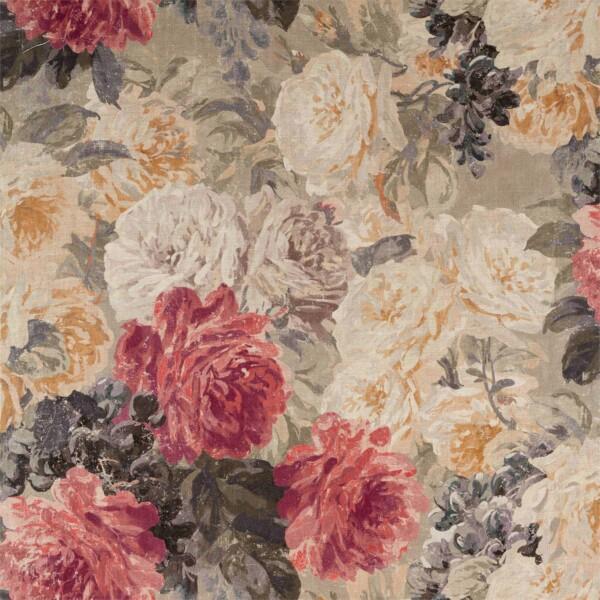 Ткань Zoffany Rose Absolute Linen   322652